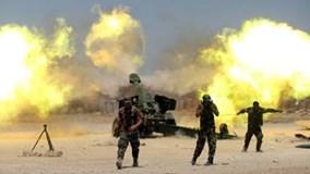 Xem liên quân phá tan thành trì IS