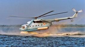 Đọ cánh với mặt nước, trực thăng săn ngầm Mi-14 phải chịu cái kết đắng lòng