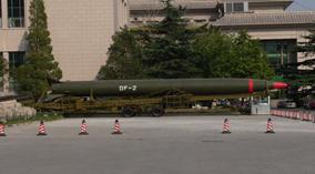 Tên lửa hạt nhân DF-2 của Trung Quốc rơi tự do sau khi phóng