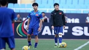 Buổi tập cuối cùng trước trận bán kết lượt về AFF Cup của ĐT Việt Nam