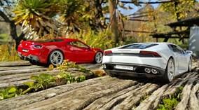 Cuộc chiến sắc đẹp giữa Ferrari 488 GTB vs Lamborghini Huracan