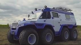Siêu xe địa hình Shaman 8x8 - Con quái vật đến từ nước Nga