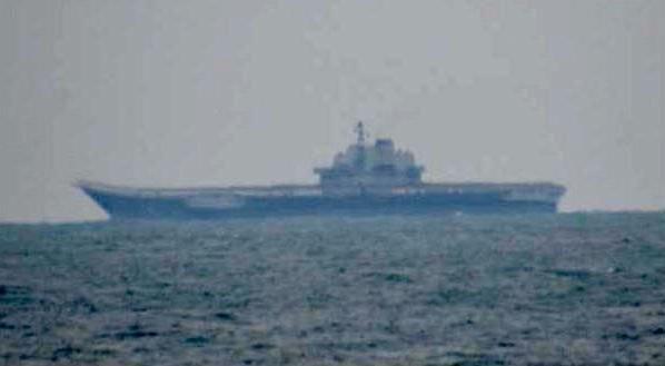 Tàu sân bay Trung Quốc tập trận bắn đạn thật