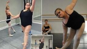 """Nàng béo """"gây bão"""" với màn múa ballet điêu luyện"""