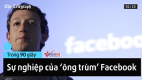 Đường sự nghiệp thăng trầm của 'ông trùm' Facebook