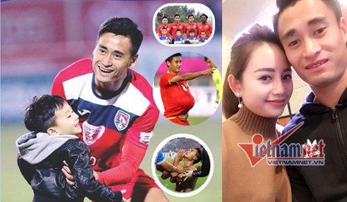 Tiết lộ vợ 9x xinh đẹp của quả bóng đồng Minh Tuấn