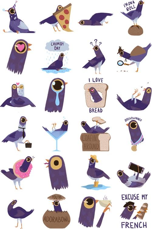 """Chú chim màu tím đang """"công phá"""" giới trẻ toàn cầu - 3"""