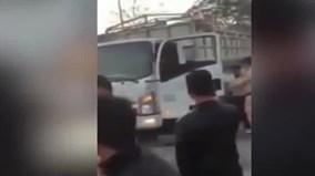 CSGT Hà Giang đuổi 80 km bắt tài xế gây tai nạn, bỏ chạy