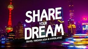 Video 2 phút vòng quanh châu Á