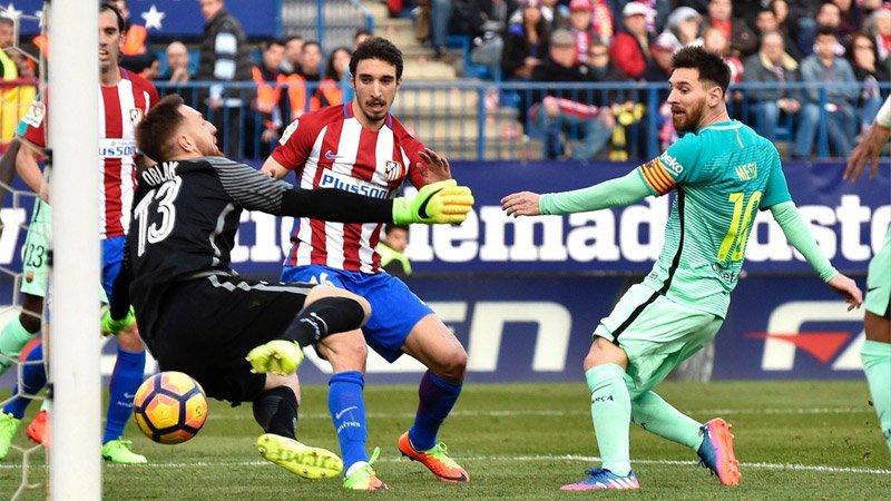 Barca, Atletico, La Liga, Simeone, Messi, Lionel Messi