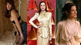 """Mỹ nhân """"50 sắc thái"""" diện váy """"bà già"""" gây thất vọng tại Oscar 2017"""