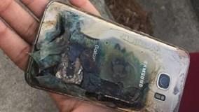 Đến lượt Galaxy S7 bất ngờ bốc cháy