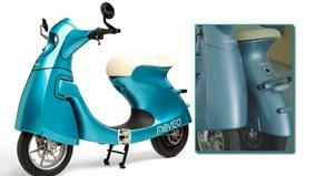 Xe tay ga đặc biệt có thể gấp đôi dành riêng cho phái đẹp
