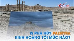 IS đã tàn phá thành phố cổ Palmyra kinh hoàng tới mức nào?