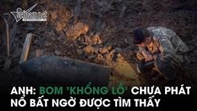 Anh: Bom 'khổng lồ' chưa phát nổ từ Thế chiến II bất ngờ được tìm thấy