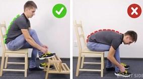 Tư thế ngồi, nằm, đứng chuẩn giúp bảo vệ cột sống