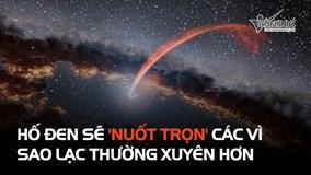 Hiện tượng hố đen 'nuốt trọn' sao lạc sẽ ra với tần suất dày đặc