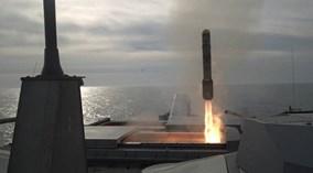 """Mỹ thử nghiệm tên lửa """"hỏa ngục"""" trên tàu LCS"""