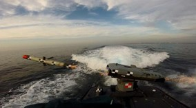 Israel thử nghiệm phóng tên lửa từ tàu không người lái