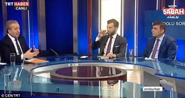 Đang phỏng vấn trên sóng trực tiếp, nam MC bất ngờ ngất xỉu rồi biến mất trước sự ngỡ ngàng của người xem - Ảnh 2.