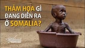 Thảm họa khủng khiếp gì đang diễn ra ở Somalia?