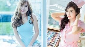 Cô gái Thái xinh đẹp, đáng yêu 'hết phần' của người khác