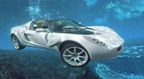"""""""Siêu xe của điệp viên 007"""" bước ra đời thực, có thể bơi lặn như tàu ngầm"""