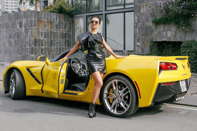 Nữ tay đua đốt lốp Chevrolet Corvette C7 Stingray mui trần tại trường đua 2.000 tỷ Đồng của Dũng lò vôi - Ảnh 9.