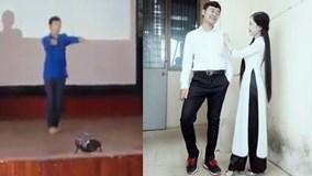 Thầy giáo tương lai nhảy cực đẹp khiến chị em 'điêu đứng'