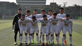 Clip U17 HAGL vùi dập U17 Gangwon FC 5-0
