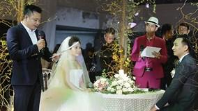 Tự Long, Xuân Bắc và các sao dự đám cưới MC Thành Trung