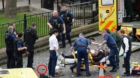 Toàn cảnh vụ khủng bố tang thương bên ngoài tòa nhà Quốc hội Anh