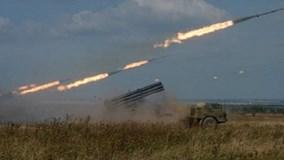 300 đơn vị pháo binh Nga đồng loạt khai hỏa