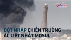 Theo chân quân Iraq, 'đột nhập' chiến trường đối đầu IS ác liệt nhất Mosul