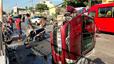 Nổ lốp, ô tô tông trực diện xe máy, 1 người chết