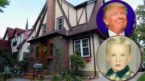 Khám phá ngôi nhà thuở hàn vi của tổng thống Donald Trump