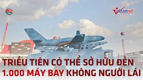 Triều Tiên có thể đang sở hữu đến 1.000 máy bay không người lái