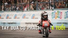 Hành trình trở thành tay đua moto cự phách của cậu bé 4 tuổi