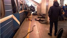 'Hiện hình' kẻ tấn công tàu điện ngầm ở Nga