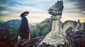 Kỳ quan cheo leo trên đỉnh núi ở Ninh Bình