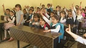 Theo chân các em nhỏ đi học ở chiến địa Mosul