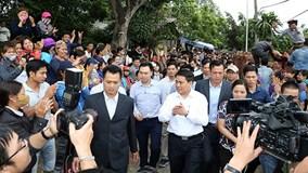 Người dân Đồng Tâm phấn khởi sau cuộc đối thoại với ông Nguyễn Đức Chung?