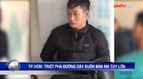 Trùm phân phối ma túy lớn tại TP.HCM sa lưới