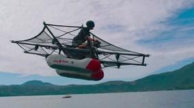 """Sau ô tô bay, mô tô bay, lại sắp có """"thuyền bay"""""""
