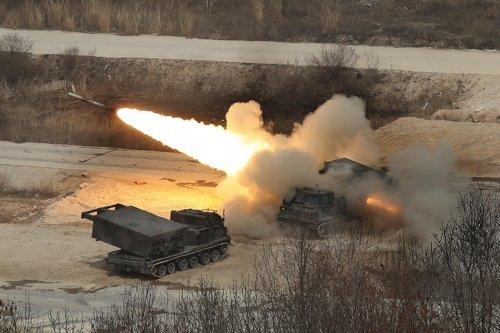 tập trận, bắn đạn thật, Triều Tiên, Hàn Quốc