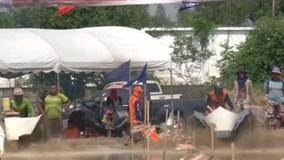 Cuộc đua máy cày của nông dân Thái Lan