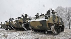 """""""Taxi chiến trường"""" BTR-MD của lực lượng đổ bộ đường không của Nga"""
