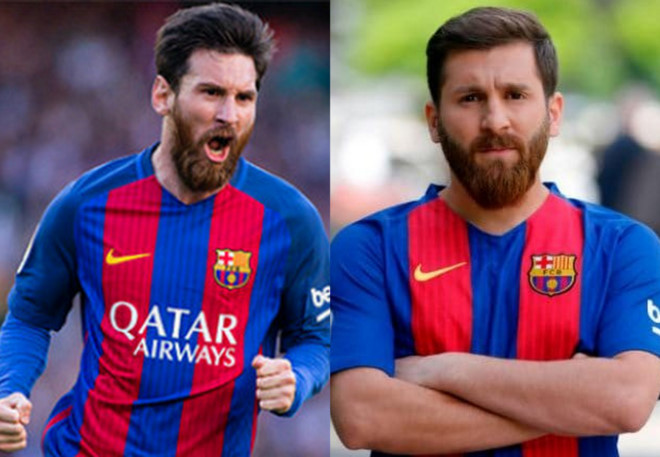 Chang trai bi dua den don canh sat vi qua giong Messi hinh anh 2