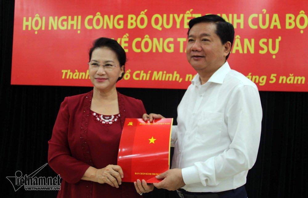 Đinh La Thăng, Dinh La Thang, Phó Ban Tổ chức Trung ương