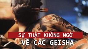 Vén bức màn bí mật về thế giới Geisha kỳ bí